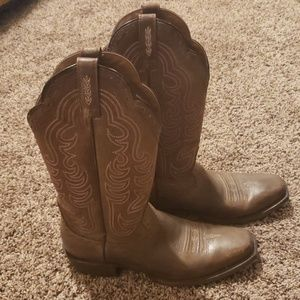 Ariat Cowboy Boots- Barely Worn